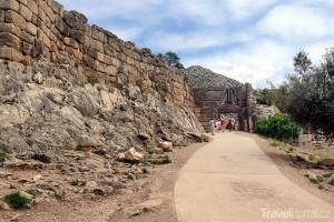 hradby v Mykénách
