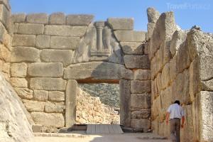 Lví brána Mykény