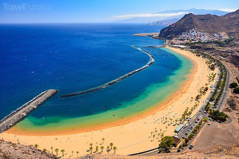 Playa de las Teresitas na Tenerife