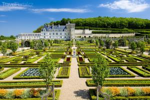 zámek Villandry v povodí Loiry