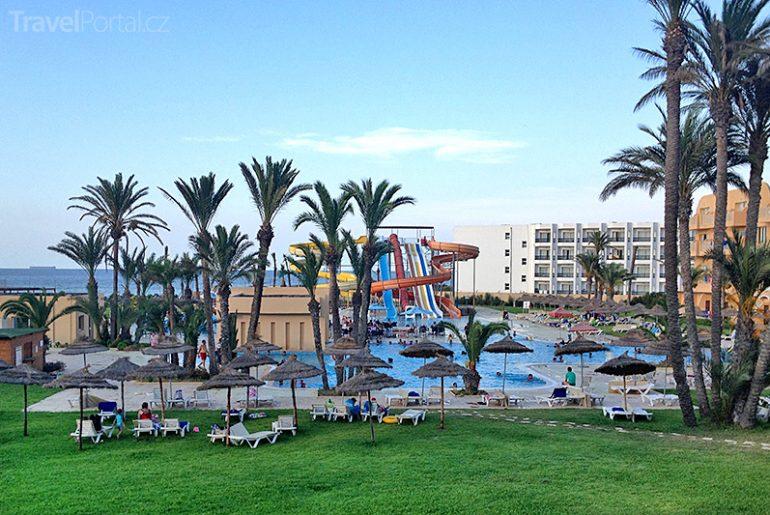 hotel v Tunisku