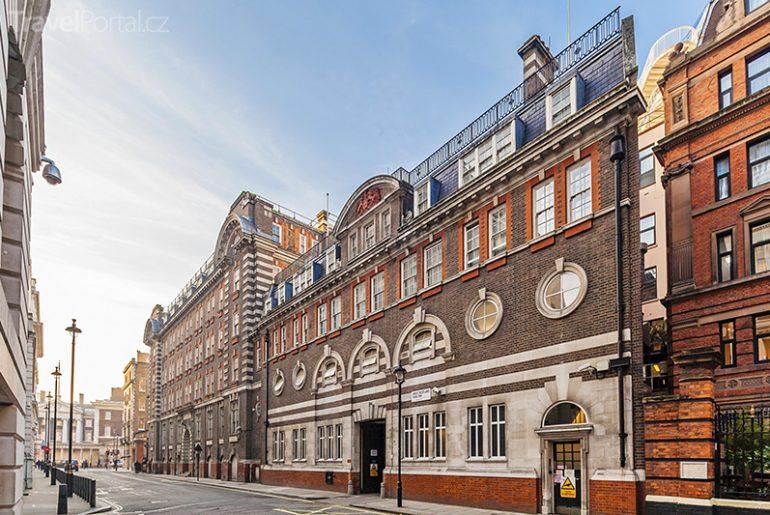 původní sídlo organizace Scotland Yard