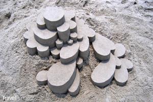 Calvin Seibert - stavby z písku