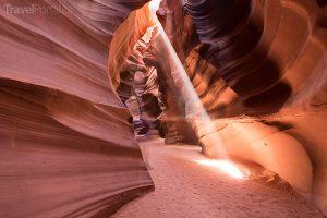 Antilopí kaňon neboli Antelope Canyon