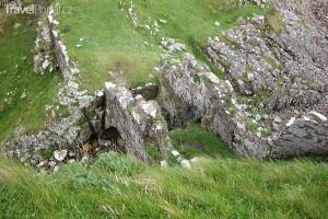 Dun Sgathaich neboli Dunscaith Castle