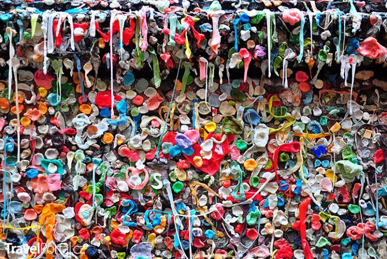 Žvýkačková zeď neboli Gum Wall