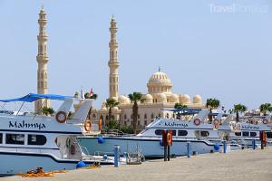 přístav v Hurghadě