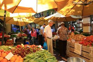 tržnice na Madeiře
