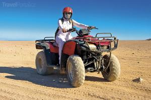 výlet na čtyřkolkách do pouště