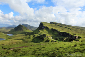 skalní formace Quiraing