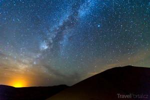 noční Sahara