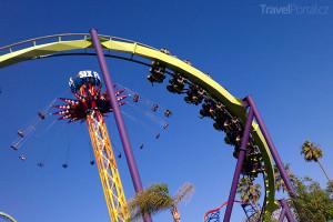 kalifornský zábavní park Six Flags Discovery Kingdom