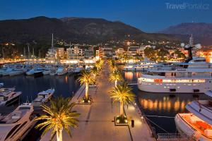 přístav v Černé Hoře