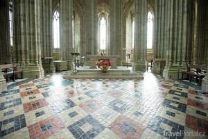 Mont Saint Michel interiér