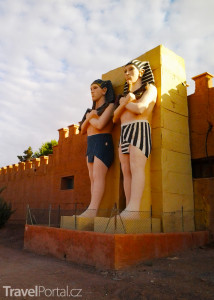 filmové ateliéry Ouarzazate