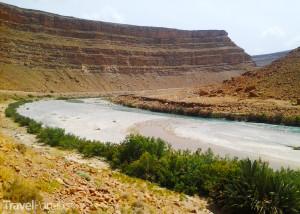 vnitrozemí Maroka
