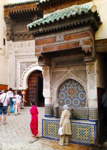 ulice města Fez