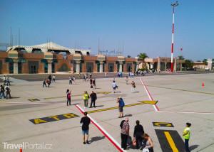 První, co jsme v rámci zájezdu Velký okruh Marokem spatřili, bylo letiště v Agadiru