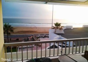 výhled z hotelu Atlas Amadil Beach