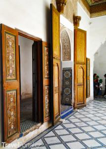 palác Bahia v Marrakéši
