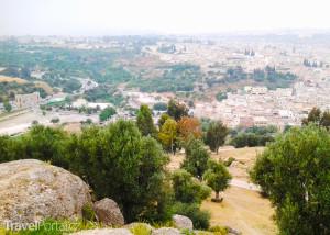 pohled na město Fez