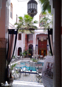 kavárna ve Fezu
