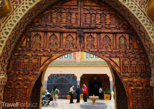 dřevořezba v Maroku