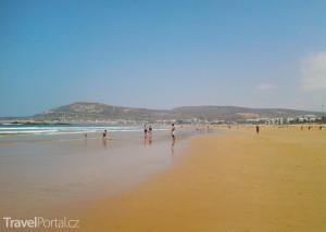 pláž v Agadiru