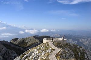 vnitrozemí Černé Hory