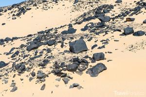 Černá poušť Egypt