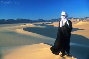 Tuareg v poušti