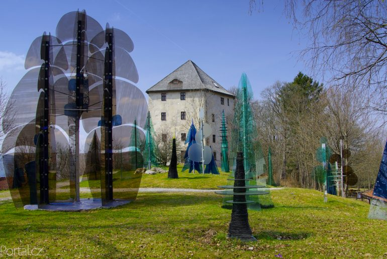 Skleněný les Weissenstein