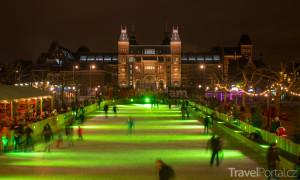 vánoční Amsterdam