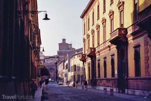 centrum města Ferrara