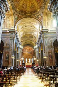 katedrála svatého Jiří interiér