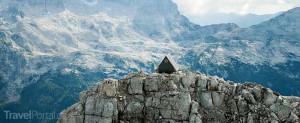 ubytování zdarma na vrcholu Foronon del Buinz