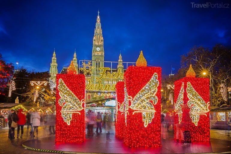 Vánoční trhy 2015 Vídeň