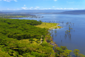 jezero v Nakuru