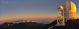 teleskopy na vrcholu Mauna Kea
