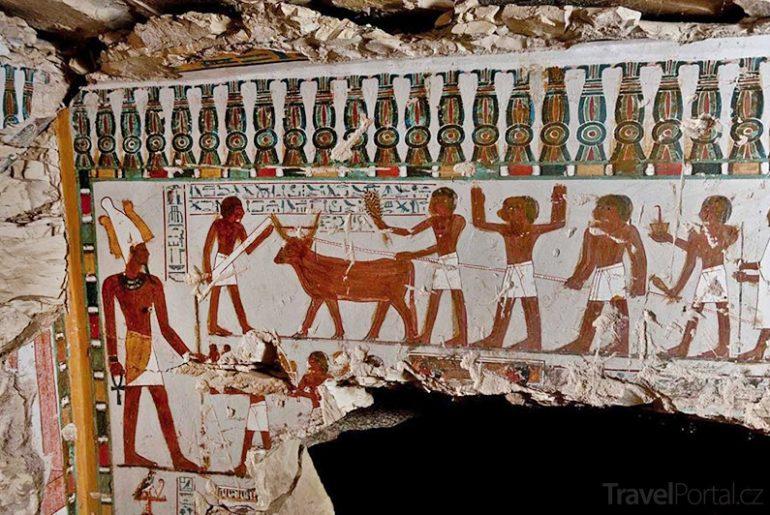 hrobky v Luxoru