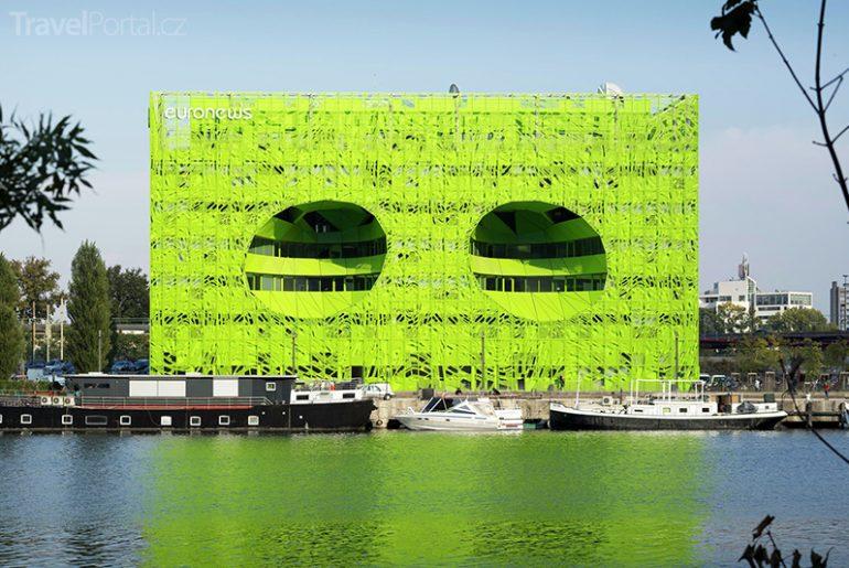 budova Euronews v Lyonu