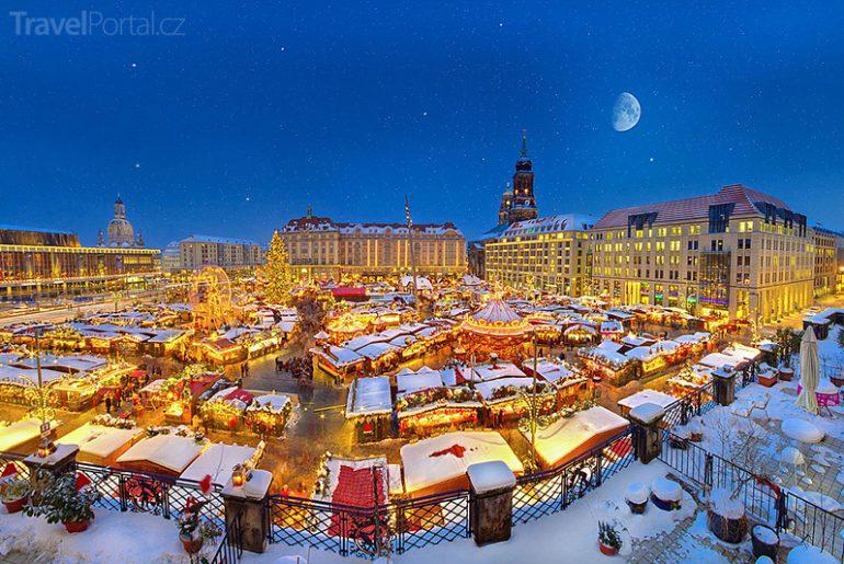 Vánoční trhy 2015 Drážďany