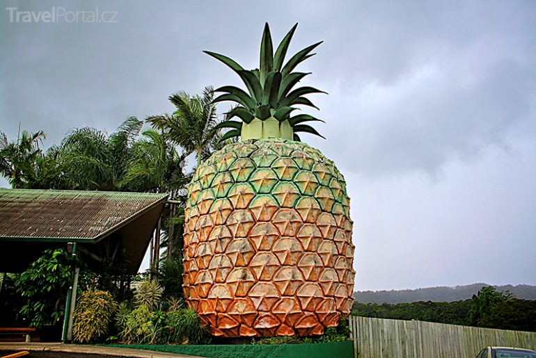 Big Pineapple Austrálie
