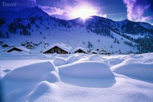 Malbun v zimě