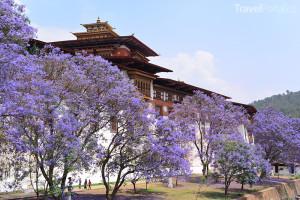 královský palác v Bhútánu