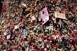 Žvýkačková zeď (Gum Wall)