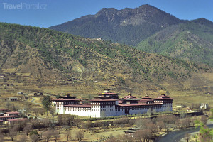 sídlo vlády Bhútán
