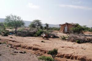 venkov v Súdánu
