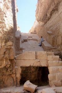 Radžedefova pyramida Egypt