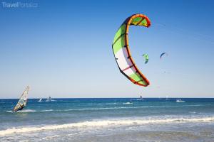 kitesurfing v Egyptě